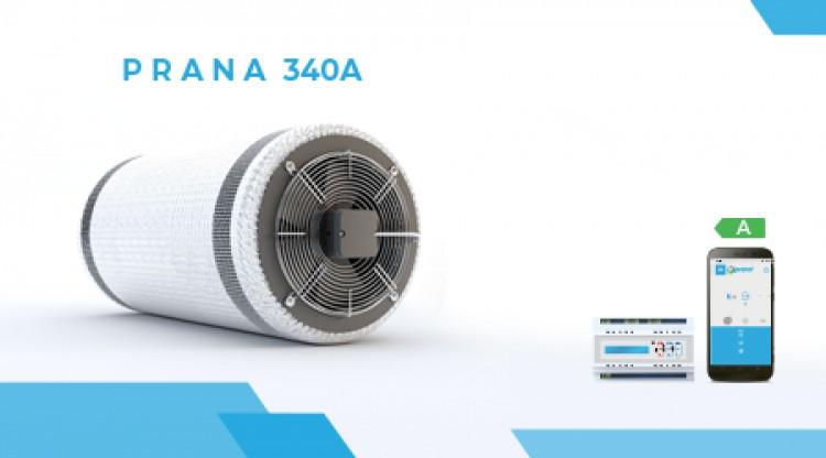 Industrijska ventilacija Prana 340A Srbija Crna Gora Ugradnja Montaz garancija kvaliteta